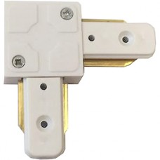 Коннектор для однофазных шинопроводов угловой, белый, LLT AC1 [022.0549]