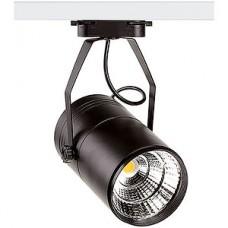 Светильник LED трековый 10W, 4000K, 1050Лм, d72 L120, 1xCOB, черный, MLP