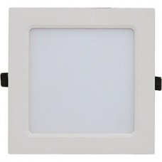 Светильник встраиваемый квадратный,  6W, 4000К, 420Лм, 108x108x23, IP40, IN HOME SLP-eco [021.0233]