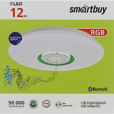 Светильник настенно-потолочный LED 12W, 4000K, Bluetooth, Smartbuy [SBL-Btooth-12-W-4K]
