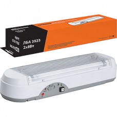 Светильник LED аварийный 2x8 3ч непостоянный, TDM ЛБА 3923 [SQ0308-0001]