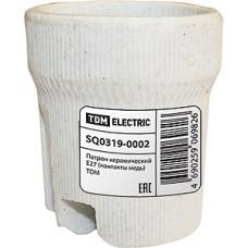 Патрон E27 керамический, TDM [SQ0319-0002]