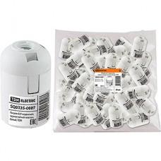 Патрон E27 пластиковый подвесной, белый, TDM [SQ0335-0007]