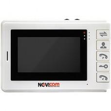Видеодомофон NOVIcam SMILE 4, на 2 выз. панели, 4.3