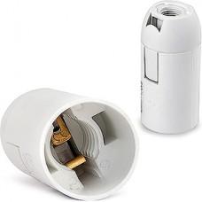 Патрон E14 пластиковый подвесной, белый, SmartBuy [SBE-LHP-s-E14]