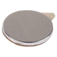 Магнит неодимовый диск 10*1мм, сцепление 0.5кг, с клейким слоем, упак.20шт REXANT [72-3111-1]