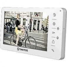 Видеодомофон Tantos Amelie, белый, на 2 выз. панели, 7