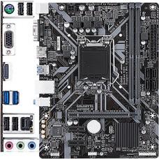 Мат. плата GigaByte H310M H, S1151, Intel H310, 2xDDR4, 2xUSB3.1, 8ch, D-Sub+HDMI, GLAN, mATX, RTL