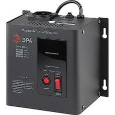 Стабилизатор напряжения,   500ВА, 140-260В, настенный, ЭРА [СННТ-500-Ц]