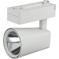 Светильник LED трековый 30W, 4000K, 2100Лм, 105x140, 24°, 1xCOB, белый, ЭРА [TR4-30 WH]