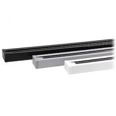 Шинопровод однофазный для трековых светильников 1м белый, ELVAN [TRACK100CM-WH]