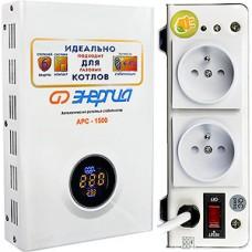 Стабилизатор напряжения для котлов, 1500ВА, 140-260В, Энергия АРС-1500