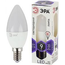 Лампа LED ЭРА E14/B35 свеча,  9W, 6000K, 720Лм [LED smd B35-9W-860-E14]
