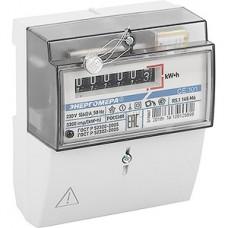 Счетчик электроэнергии 1-фазный 1-тарифный Энергомера CE101 R5.1 145 M6, 5-60A 220В, DIN или щит