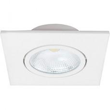 Светильник встраиваемый квадратный,  5W, 4000К, 375Лм, 85/40, IP20, Lumin'arte [COB-DLL5W-SS] белый
