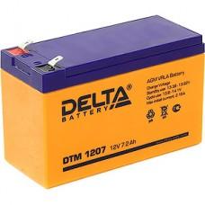 Батарея для UPS 12В/7Aч, Delta [DTM 1207] [5]