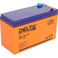 Батарея для UPS 12В/7.2Aч, Delta [HRL 12-7.2]
