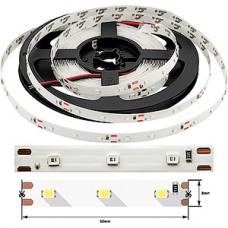 Лента LED SMD2835  60/м, 12В, IP20, 4.8Вт/м, синий, 5м, цена за 1м, SWG эко
