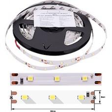 Лента LED SMD2835  60/м, 12В, IP20, 4.8Вт/м, белый холодный, 5м, цена 1м, SWG эко