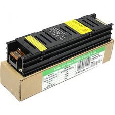 Блок питания 100W, 24V, IP20, BLACK, узкий, металлическая решетка [LY-100-24]