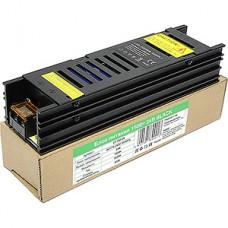 Блок питания 150W, 24V, IP20, BLACK, узкий, металлическая решетка [LY-150-24]