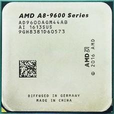 Процессор AMD A8 9600, AM4, 3.1-3.4GHz, 2MB, 4+6 core, 45/65W, with Radeon R7 graphics, OEM