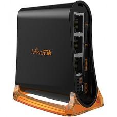 Маршрутизатор Mikrotik hAP mini, 802.11 b/g/n, 22дБм, MIMO 2x2, 4x100Mbit [RB931-2nD]