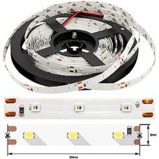 Лента LED SMD2835  60/м, 12В, IP20, 4.8Вт/м, зеленый, 5м, цена за 1м, SWG эко