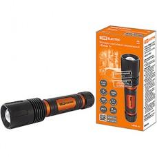 Фонарь аккумуляторный LED 20W, CREE 2000лм, 2х18650 3.7V 2200 мAh, IPX7 TDM Титан 1 [SQ0350-0060]