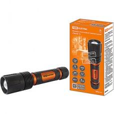 Фонарь аккумуляторный LED 10W, CREE 1000лм, 1х18650 3.7V 2200 мAh, IPX4 TDM Титан 2 [SQ0350-0061]