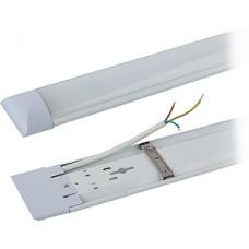 Светильник LED линейный 36W, 4000K, 2880Лм, IP20, 1200*75*25, ЭРА [SPO-5-40-4K-P (F)] металл, прозр.