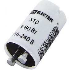 Стартер S10 4-80W 220-240В алюм. контакты, TDM [SQ0351-0020]