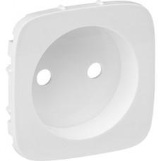 Лицевая панель розетка с/у 2P, IP20, Legrand Valena Allure [754975] белый