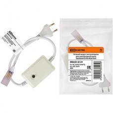 Вилка с проводом для ленты 220В SMD5050 RGB с контр. 8реж., IP20, TDM [SQ0331-0124]