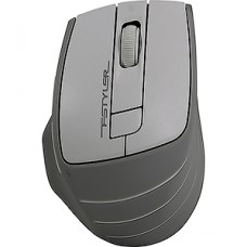 Мышь беспроводная A4Tech Fstyler FG30 белый/серый оптическая (2000dpi) беспроводная USB (5but)