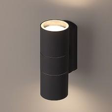 Светильник декоративный 2*GU10 MAX35W, IP54, 160*60*92, ЭРА [WL28 GY] серый