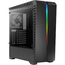 Корпус без б/п AeroCool SCAR, ATX, игровой, закал. стекло, USB3.0+2xUSB2.0