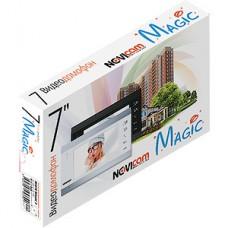 Видеодомофон NOVIcam MAGIC 7C WHITE, сенсор, 7