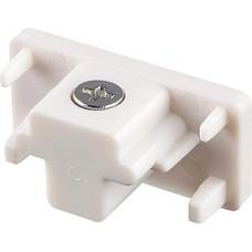 Заглушка торцевая для однофазного шинопровода, GENERAL [G-1-E-IP20] белый