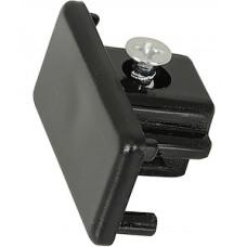 Заглушка торцевая для однофазного шинопровода, GENERAL [G-1-E-IP20-B] черный