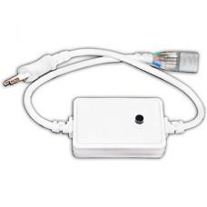 Вилка с проводом для ленты 220В SMD5050 RGB с контр. 8реж. 200W, IP20, GL [GDC-RGB-200-IP20-220]