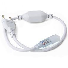 Вилка с проводом для ленты 220В SMD5050, 1500Вт, IP67, GL [G-5050-P-IP67]