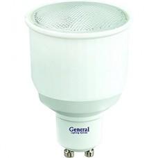 Лампа люминесцентная GL GU10/MR16 софит, 11W, 6400K, 350Лм [GJCDRC 11 GU10 6400]