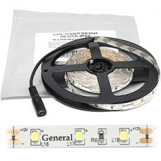 Лента LED SMD2835  60/м, 12В, IP20, 4.8Вт/м, 6500K, 5м, цена за 1м [GLS-2835-60-4.8-12-IP20-PRO-6]