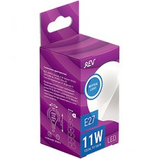 Лампа LED REV E27/G45 шар, 11W, 4000K, 880Лм [32521 5]