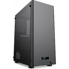 Корпус без б/п Formula CL-3301B TG черный ATX 1x120mm 2xUSB2.0 1xUSB3.0 audio bott PSU