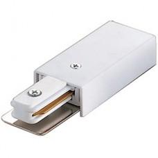 Ввод питания для однофазного шинопровода, VOLPE [UBX-Q121 K01 WHITE 1 POLYBAG]