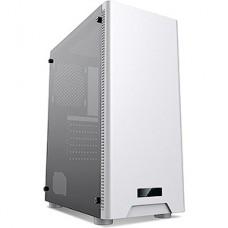 Корпус без б/п Formula CL-3301W TG белый ATX 1x120mm 2xUSB2.0 1xUSB3.0 audio bott PSU