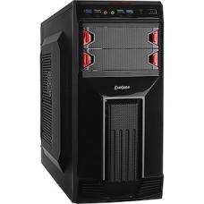 Корпус ExeGate AB-224U Black, ATX, БП AB500, 80mm, ATX, 2*USB+2*USB3.0, Audio [261428]
