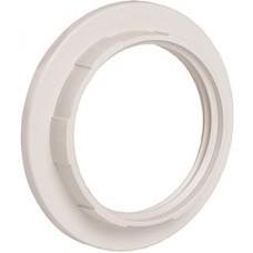 Кольцо к патрону E27, пластик, IEK [EKP10-01-02-K01] белый